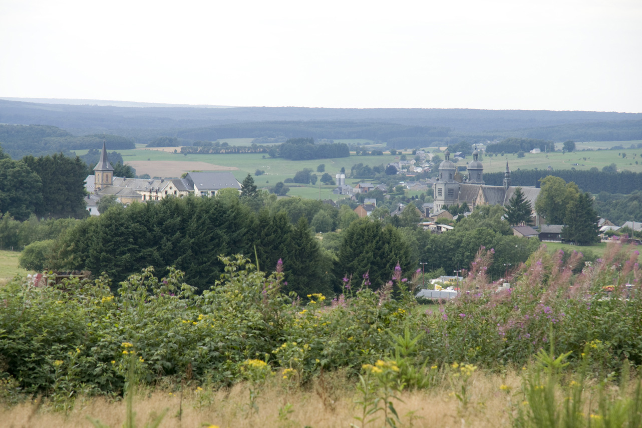 panorama sur Saint-Hubert